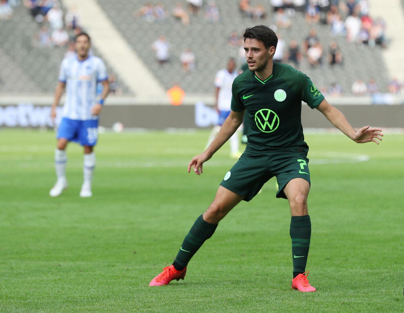 Brekalo (VfL Wolfsburg) gegen Hertha BSC