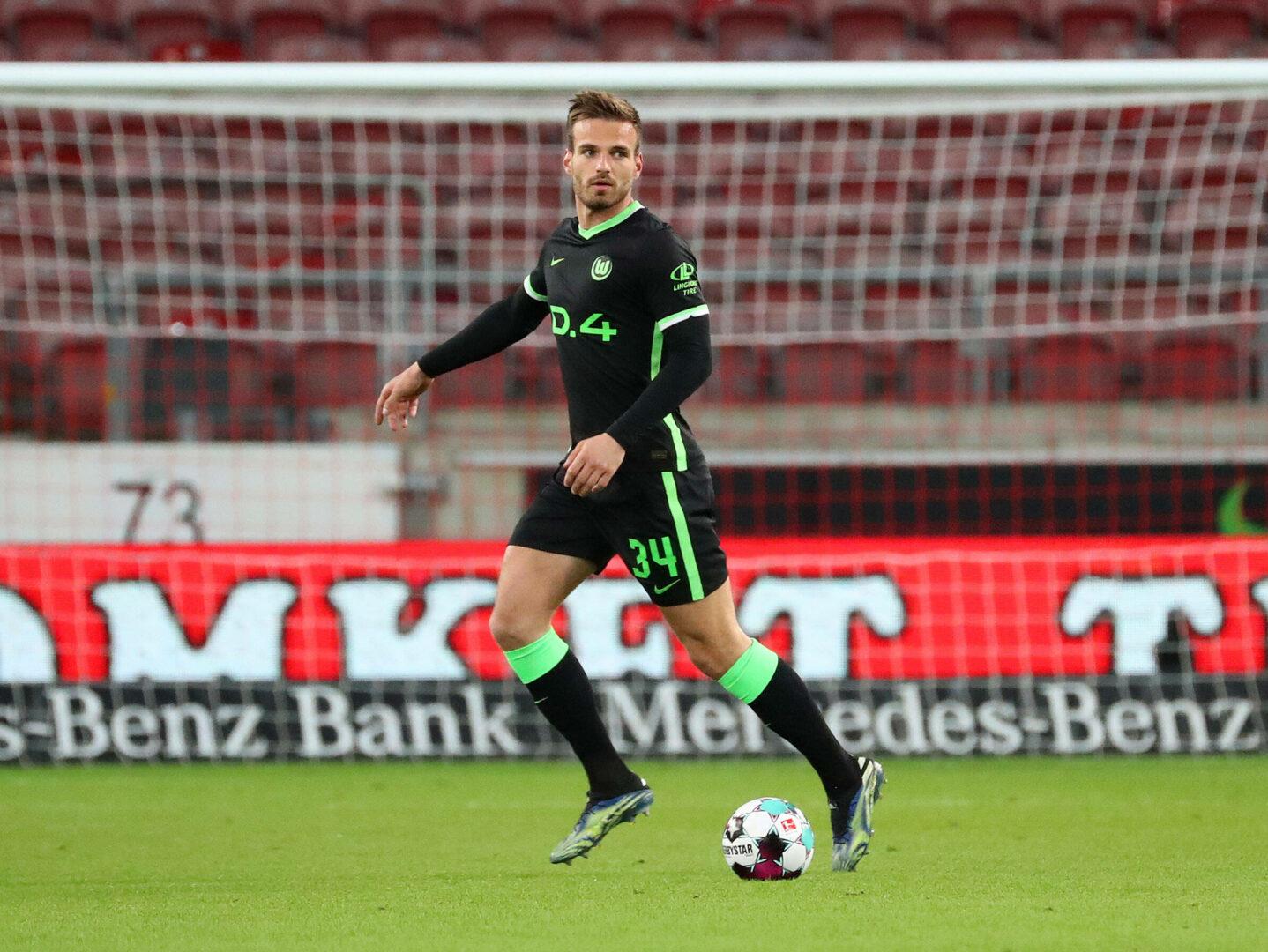 Marin Pongracic im Trikot von Wolfsburg