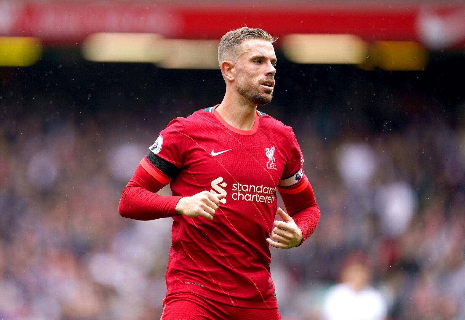 Henderson (Liverpool) gegen den FC Burnley