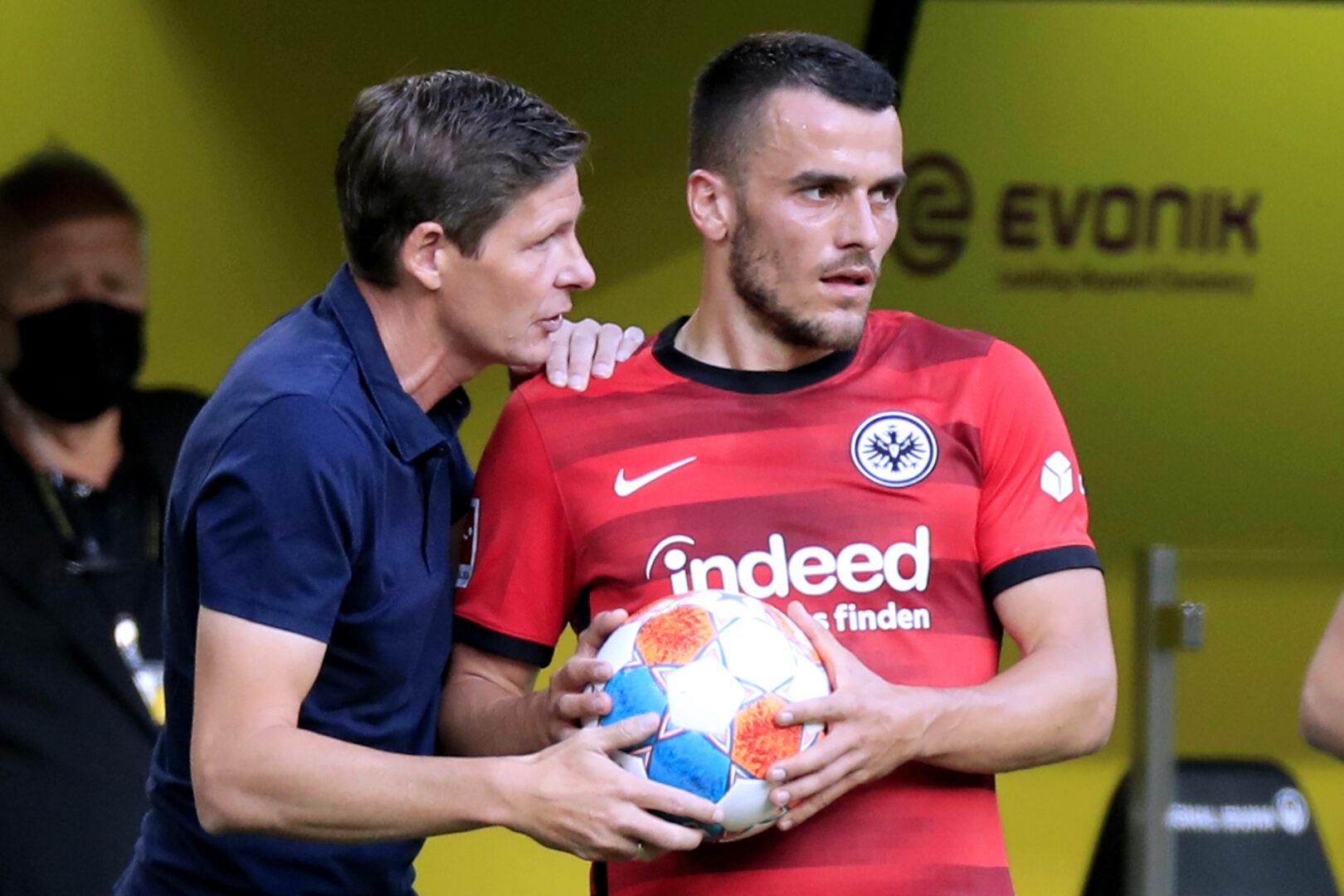 Eintracht Frankfurt: Kostic bleibt bei der SGE und Oliver Glasner.