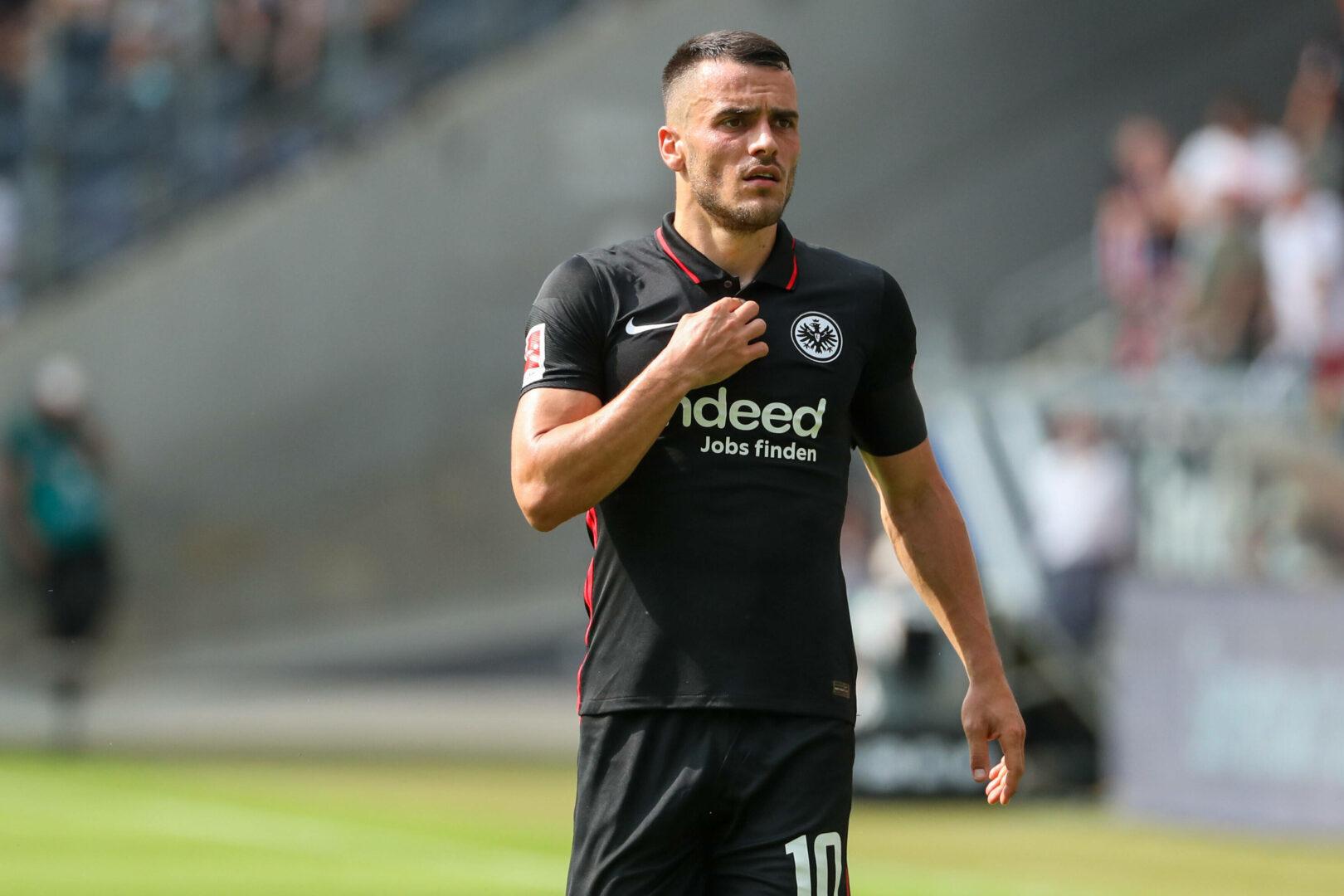 Filip Kostic hadert mit der Situation bei Eintracht Frankfurt.