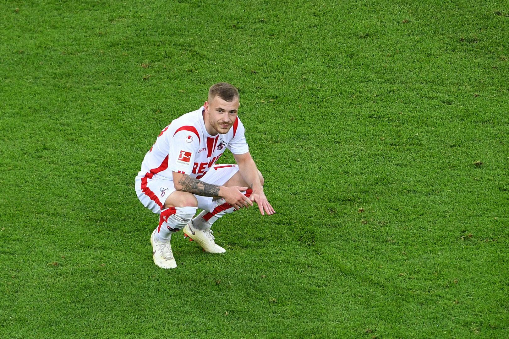 Max Meyer während seiner Zeit beim 1. FC Köln.