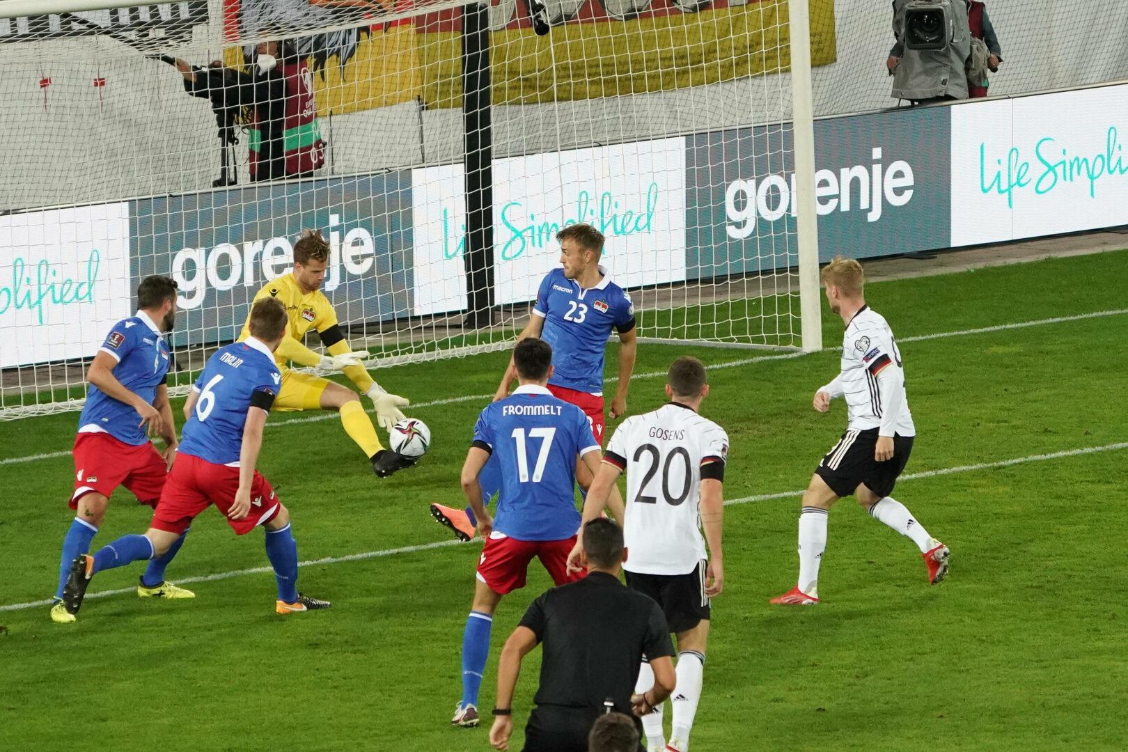 Deutschland enttäuscht bei Flick-Debüt gegen Liechtenstein