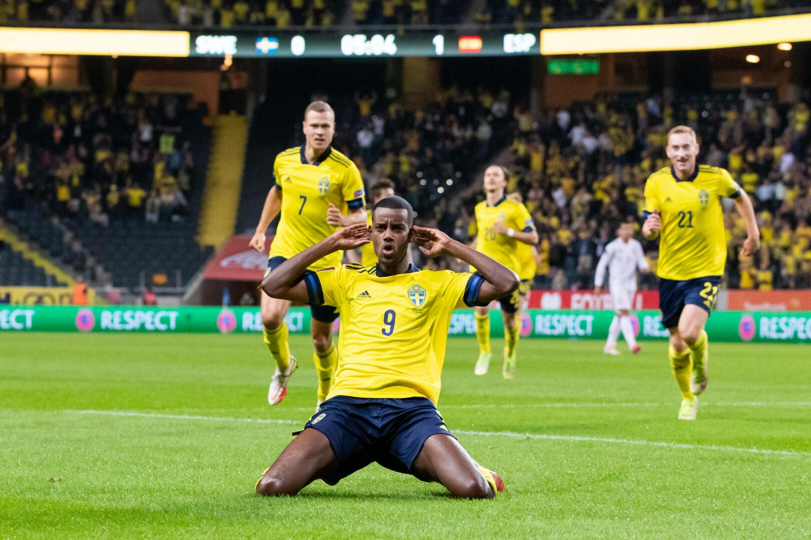 WM-Qualifikation: Spanien verliert in Schweden, Italien patzt, Belgien mit Torfestival