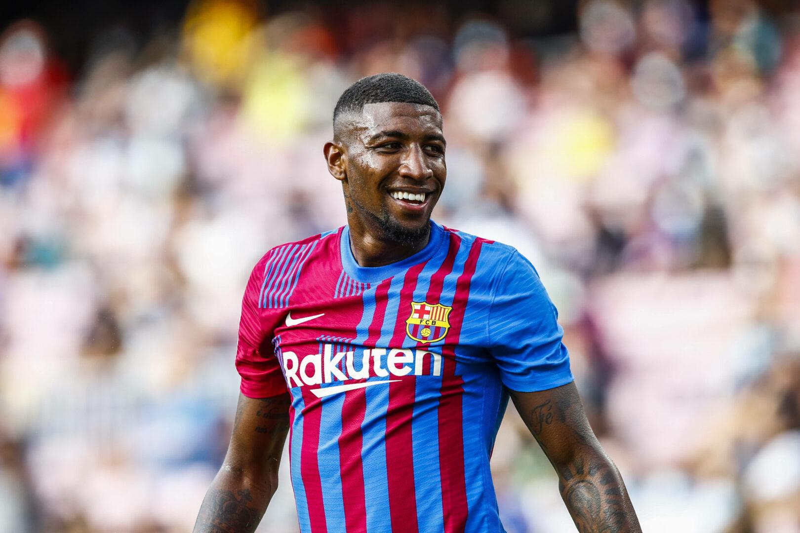 Emerson Royal noch im Trikot des FC Barcelona
