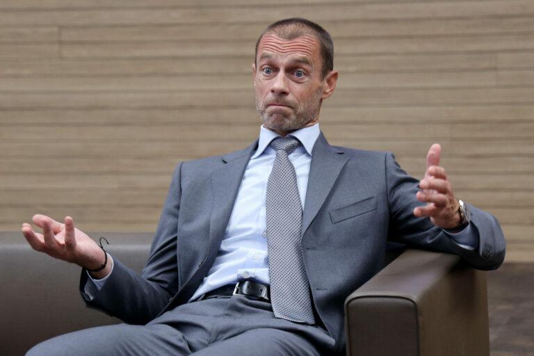 UEFA warnt weiterhin vor der Super League