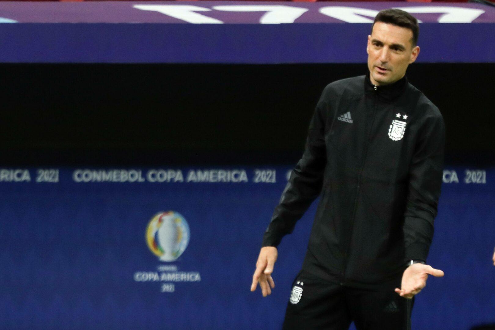 Lionel Scaloni, Trainer der argentinischen Mannschaft