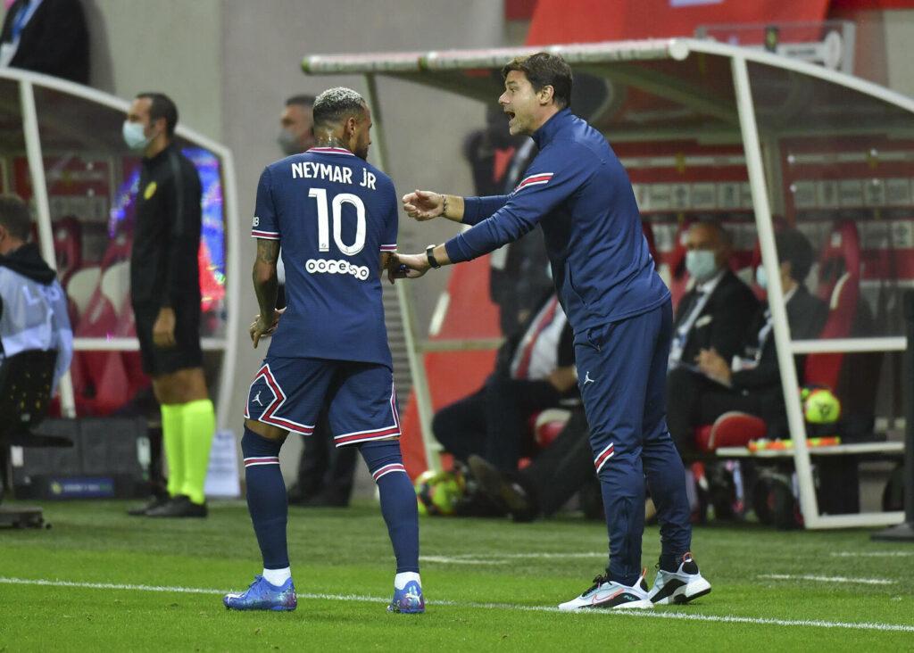 Mauricio Pochettino und Neymar