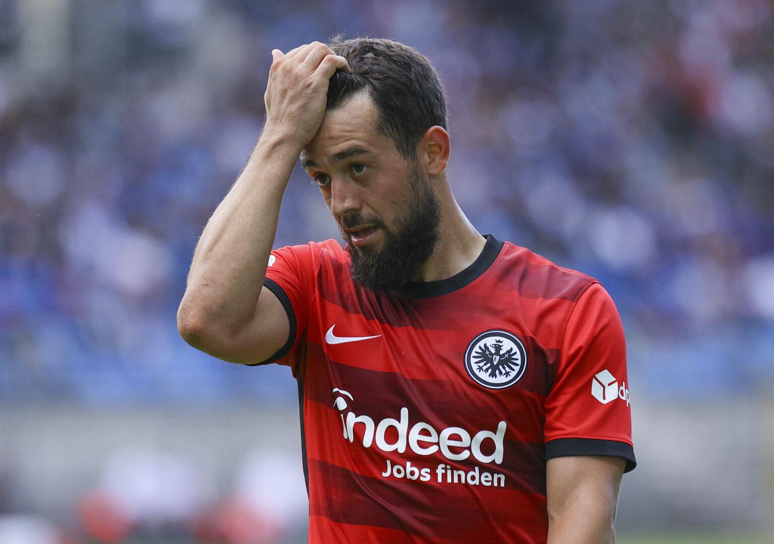 Amin Younes bei seinem wohl letzten Auftritt im Dress von Eintracht Frankfurt.