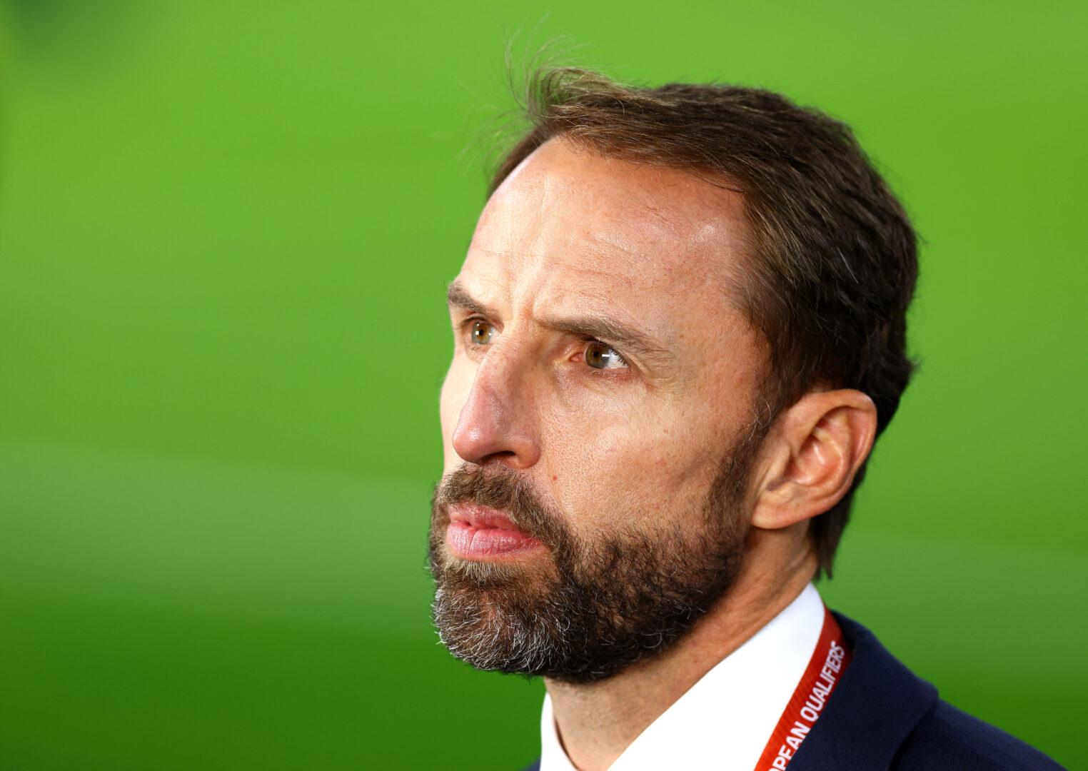 Gareth Southgate vor dem WM-Qualifikationsspiel Ungarn-England.