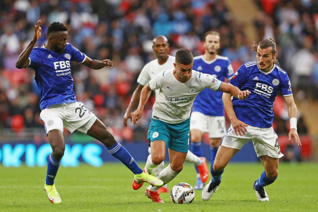Ferran Torres gegen Leicester