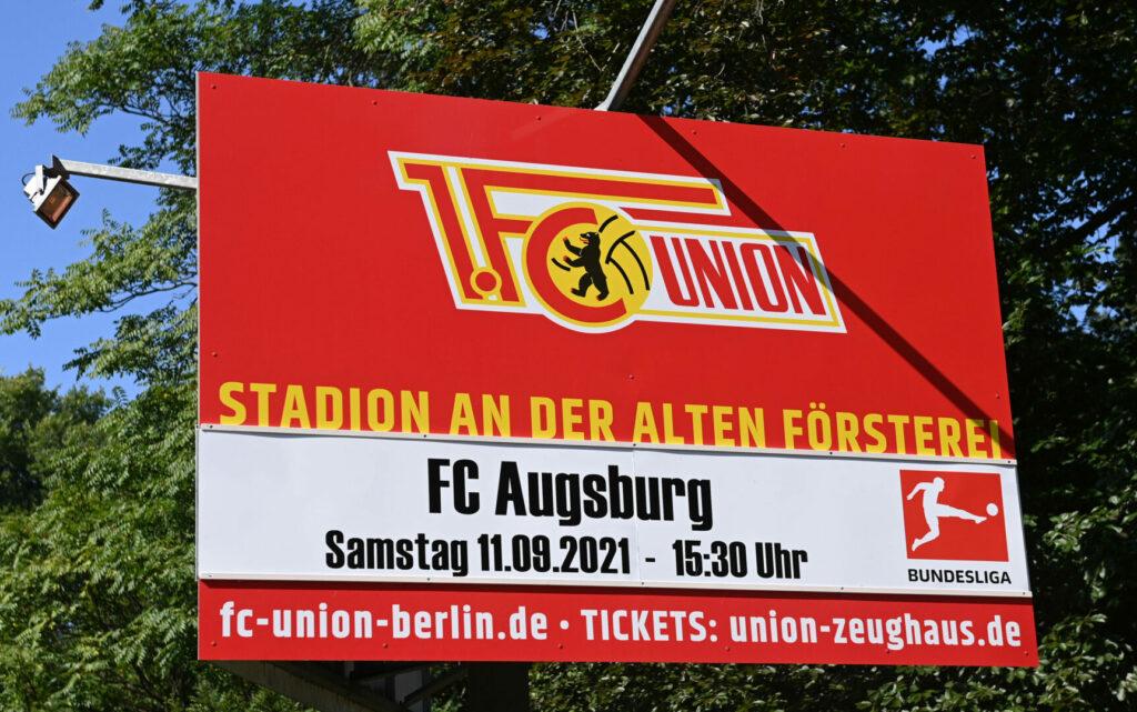 Union Berlin gegen den FC Augsburg
