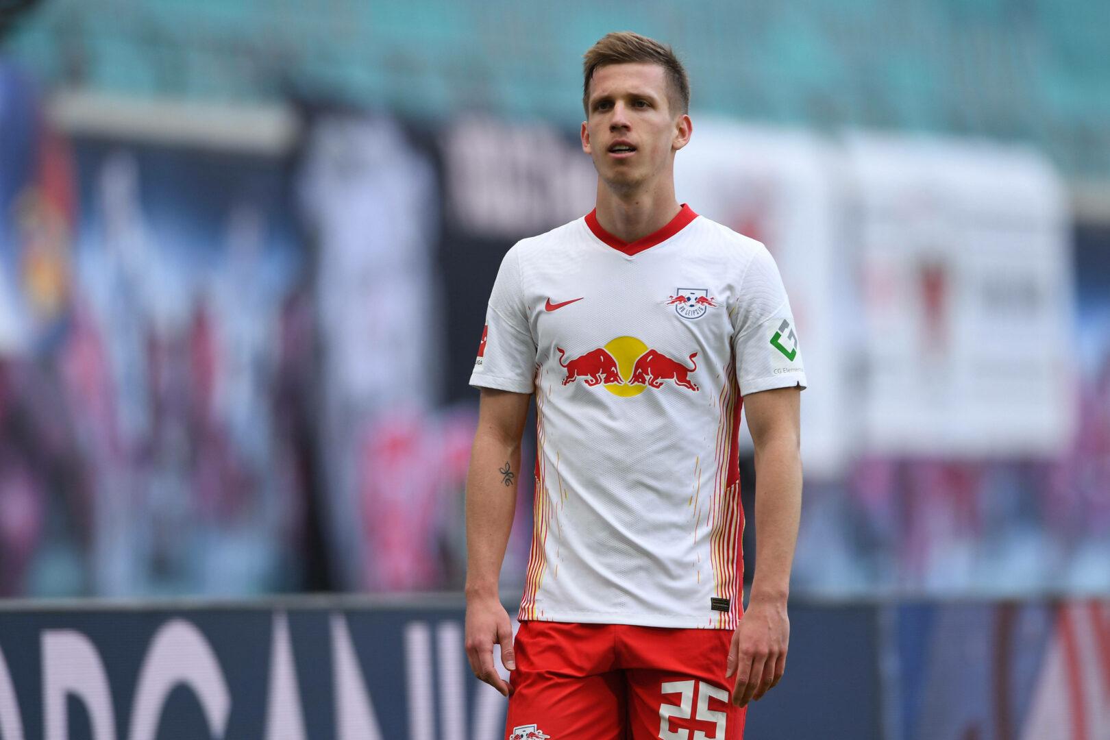 Olmo (RB Leipzig) mit leerem Blick