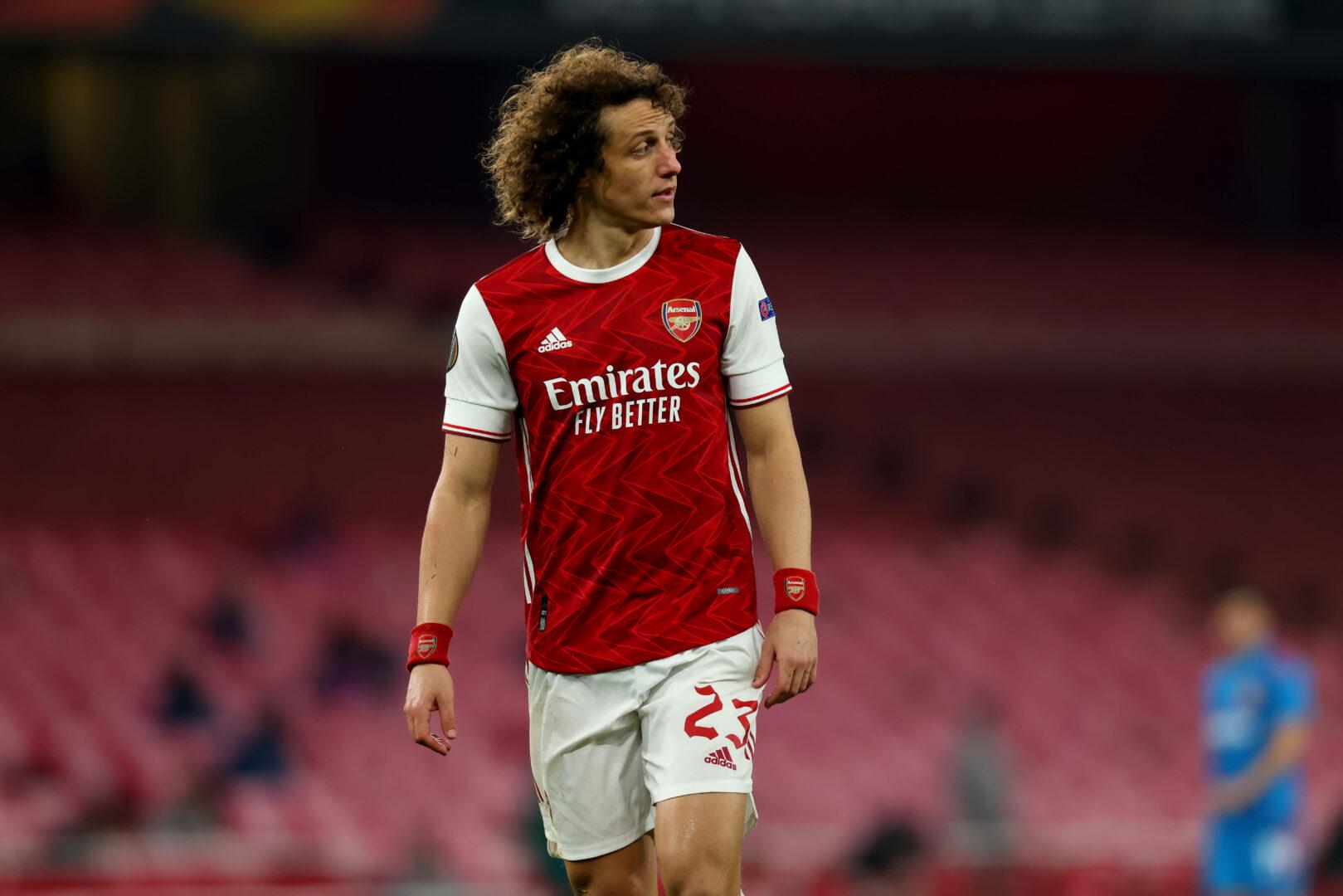 David Luiz noch im Trikot des FC Arsenal