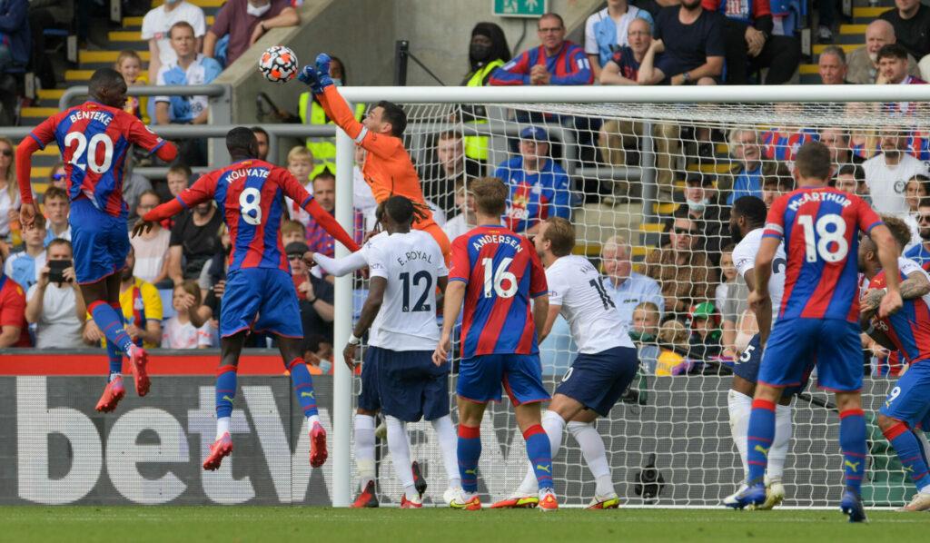 Umkämpftes Spiel zwischen Crystal Palace und Tottenham