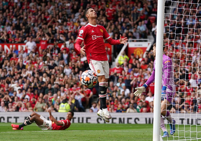 Cristiano Ronaldo für Manchester United