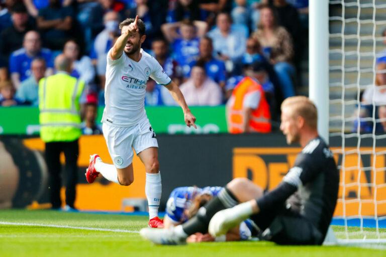 Bernardo Silva! Manchester City gewinnt Topspiel in Leicester knapp