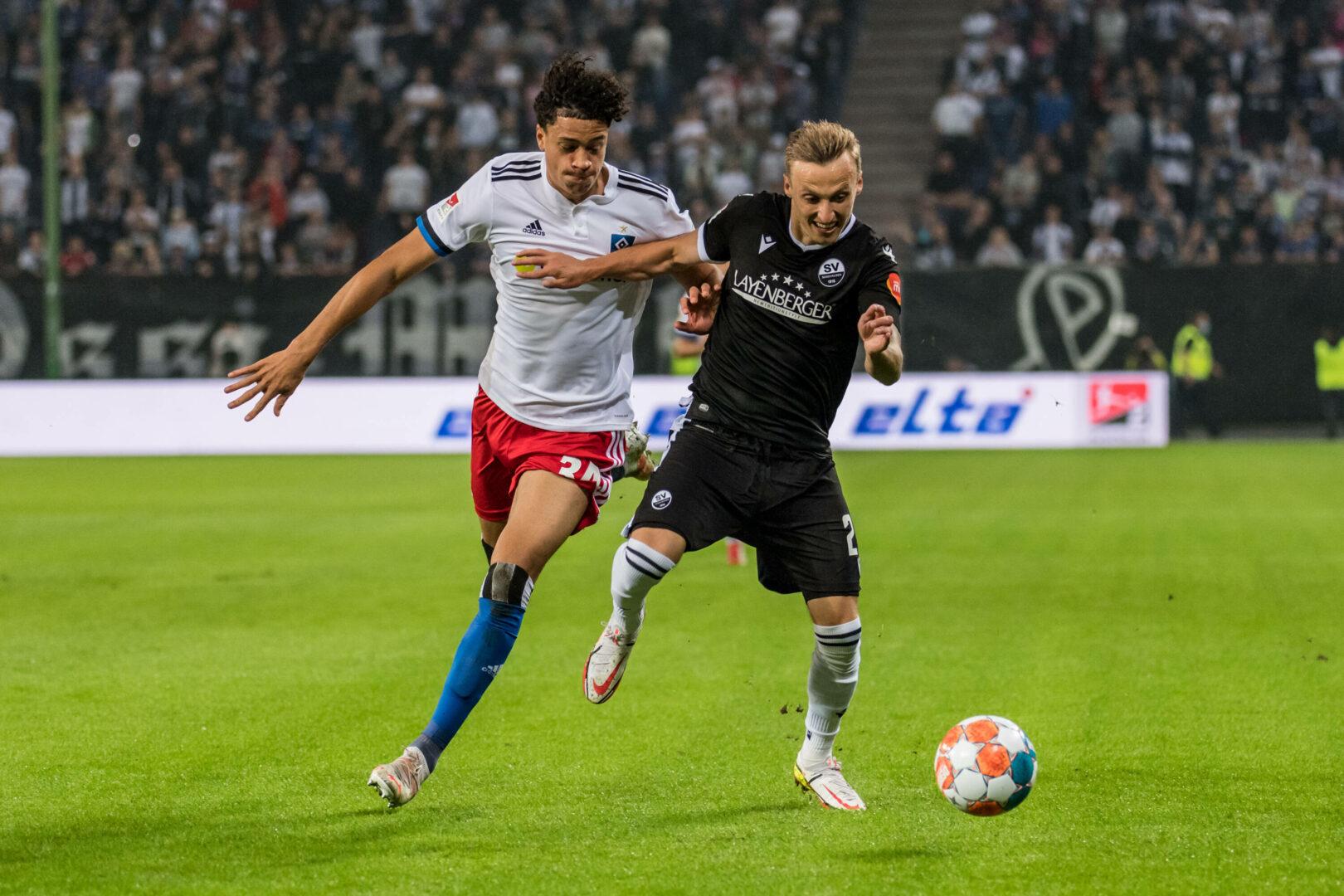 HSV mit Last-Minute-Sieg gegen Sandhausen