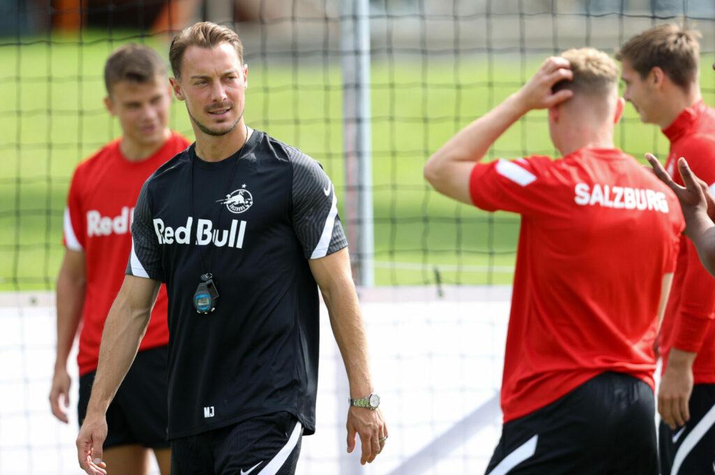 Matthias Jaissle (FC Salzburg) im Training