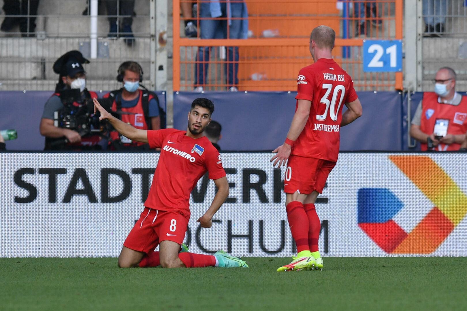 Serdar-Doppelpack: Hertha BSC mit wichtigem Sieg in Bochum