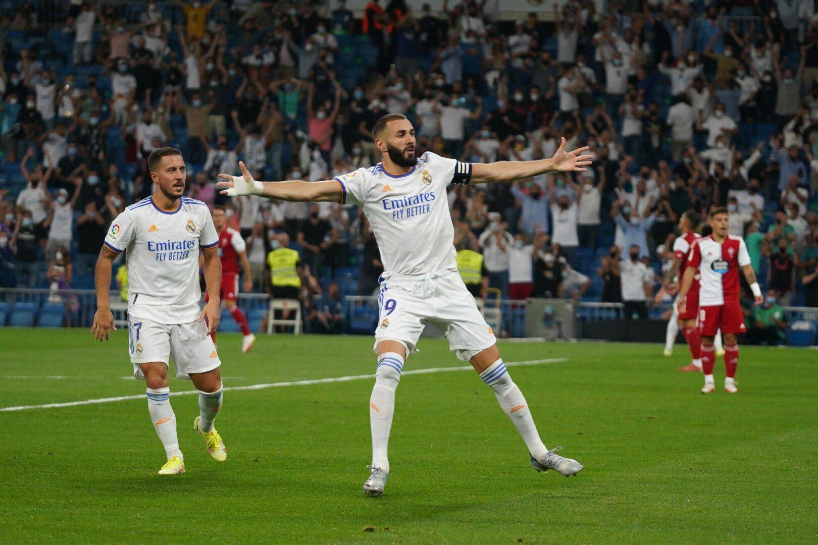 Bei Comeback im Bernabeu: Real Madrid dreht Rückstand gegen Vigo
