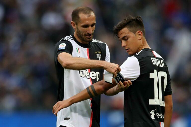 """Juventus   Chiellini zur Post-Ronaldo-Ära: """"Dies wird die Mannschaft von Dybala sein"""""""