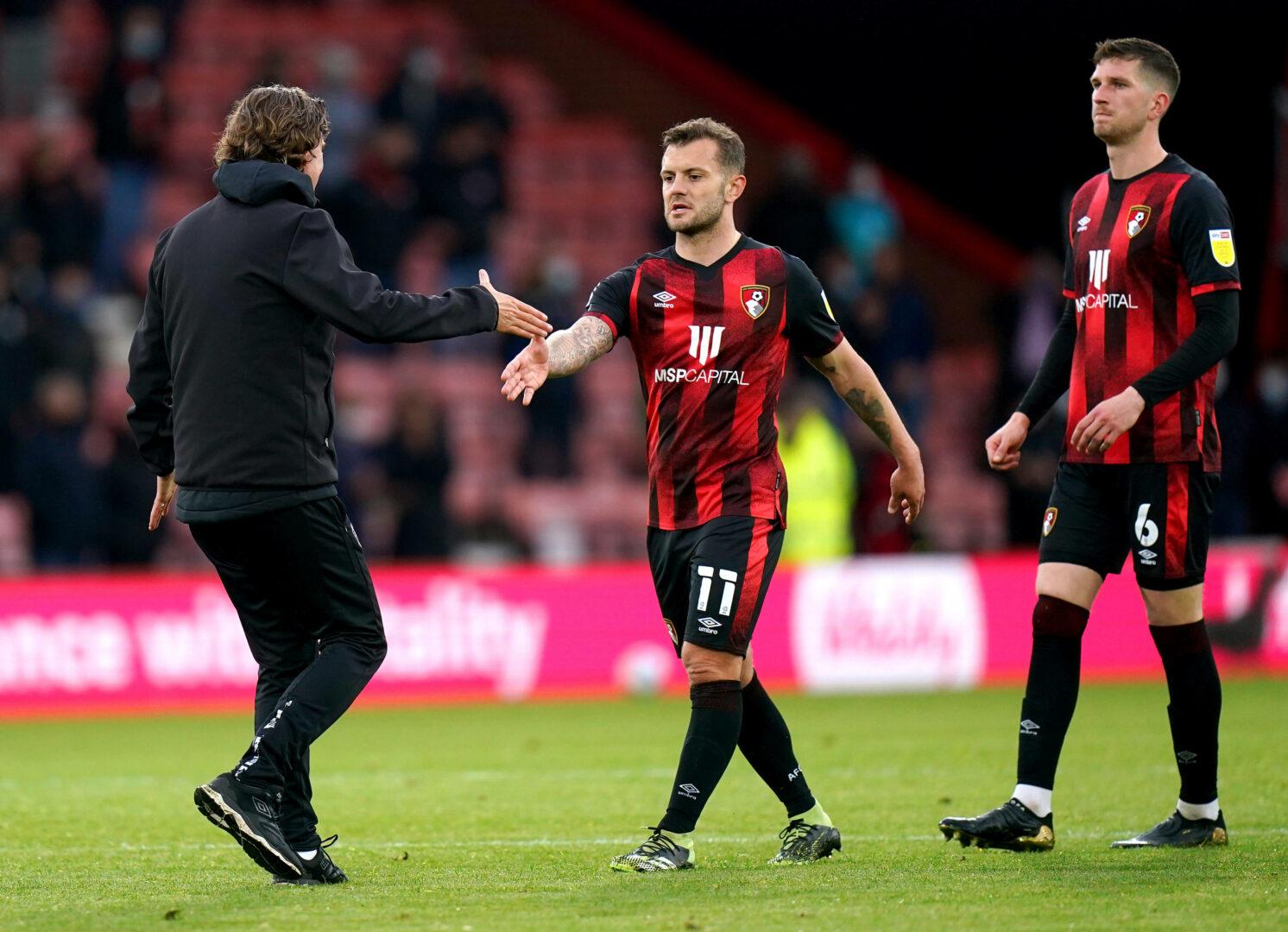Jack Wilshere im Trikot des AFC Bournemouth