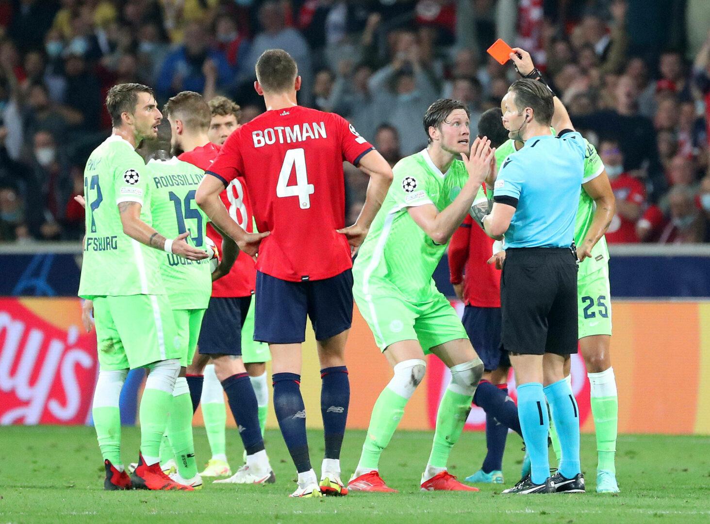 CL | VAR-Drama & Unterzahl: Wolfsburg erkämpft sich Punkt bei Lille