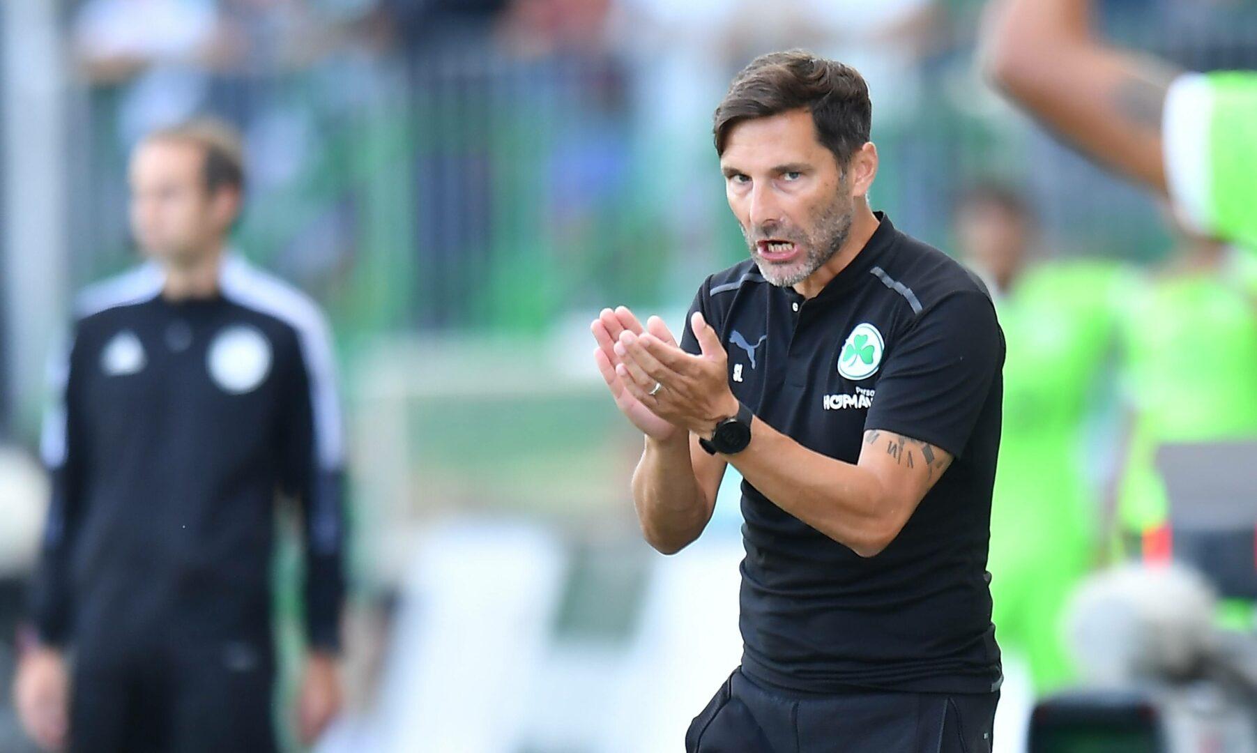 Stefan Leitl im Heimspiel der SpVgg Greuther Fürth gegen Wolfsburg.