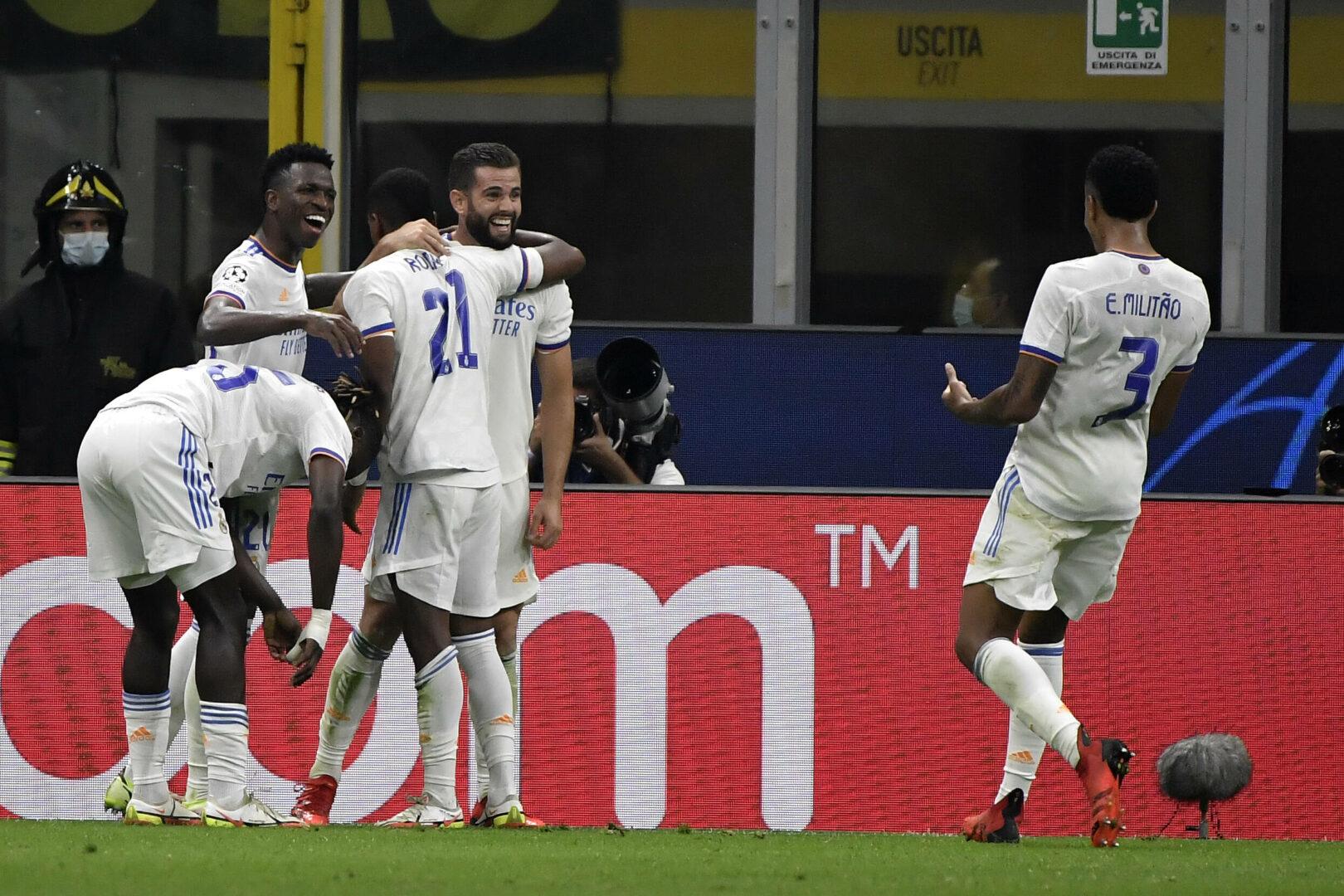 Real Madrid bejubelt ein Tor