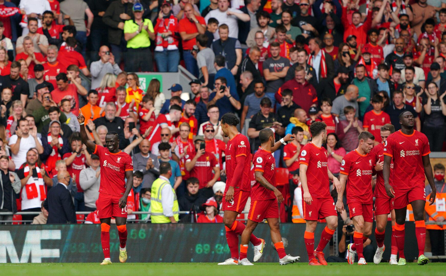 Liverpool jubelt in der Premier League