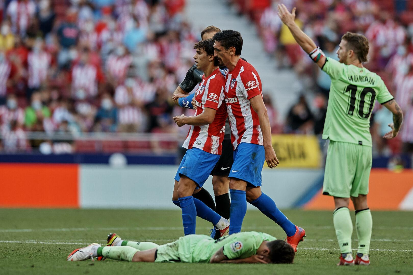 Atletico-Stürmer Joao Felix wird mit Rot vom Platz geschickt