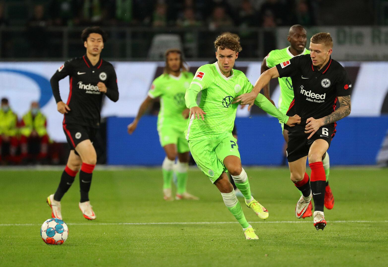 Trotz Führung: Frankfurt bleibt auch in Wolfsburg ohne Sieg