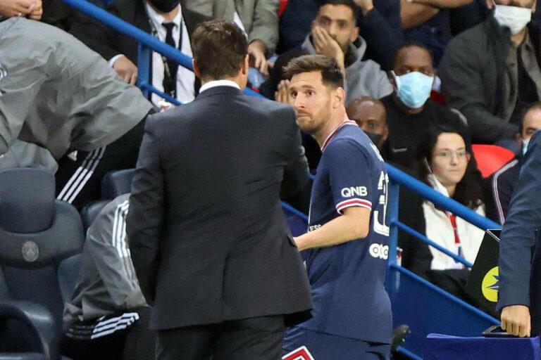 PSG |Nach Auswechslung: Pochettino äußert sich zu verärgertem Messi