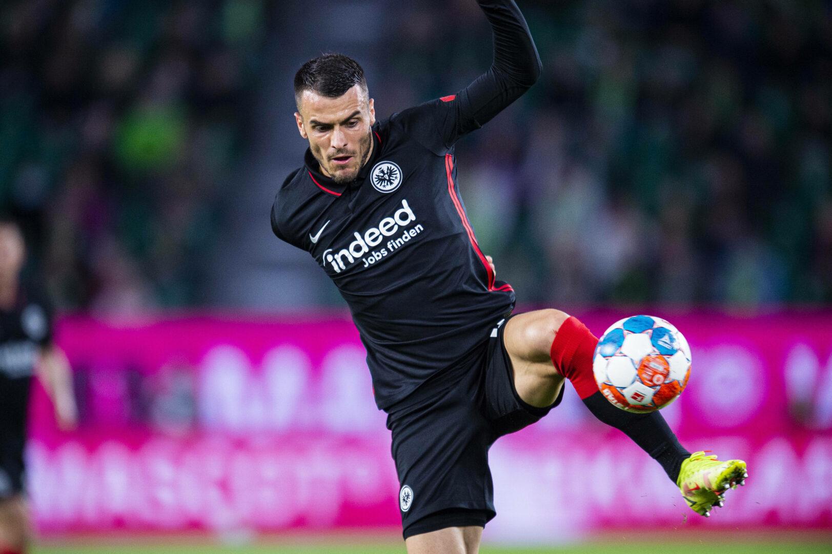 Filip Kostic am Ball.