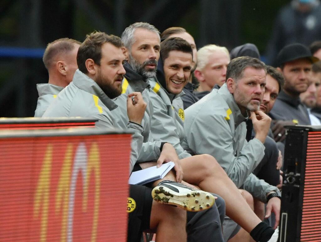 Das BVB-Trainerteam
