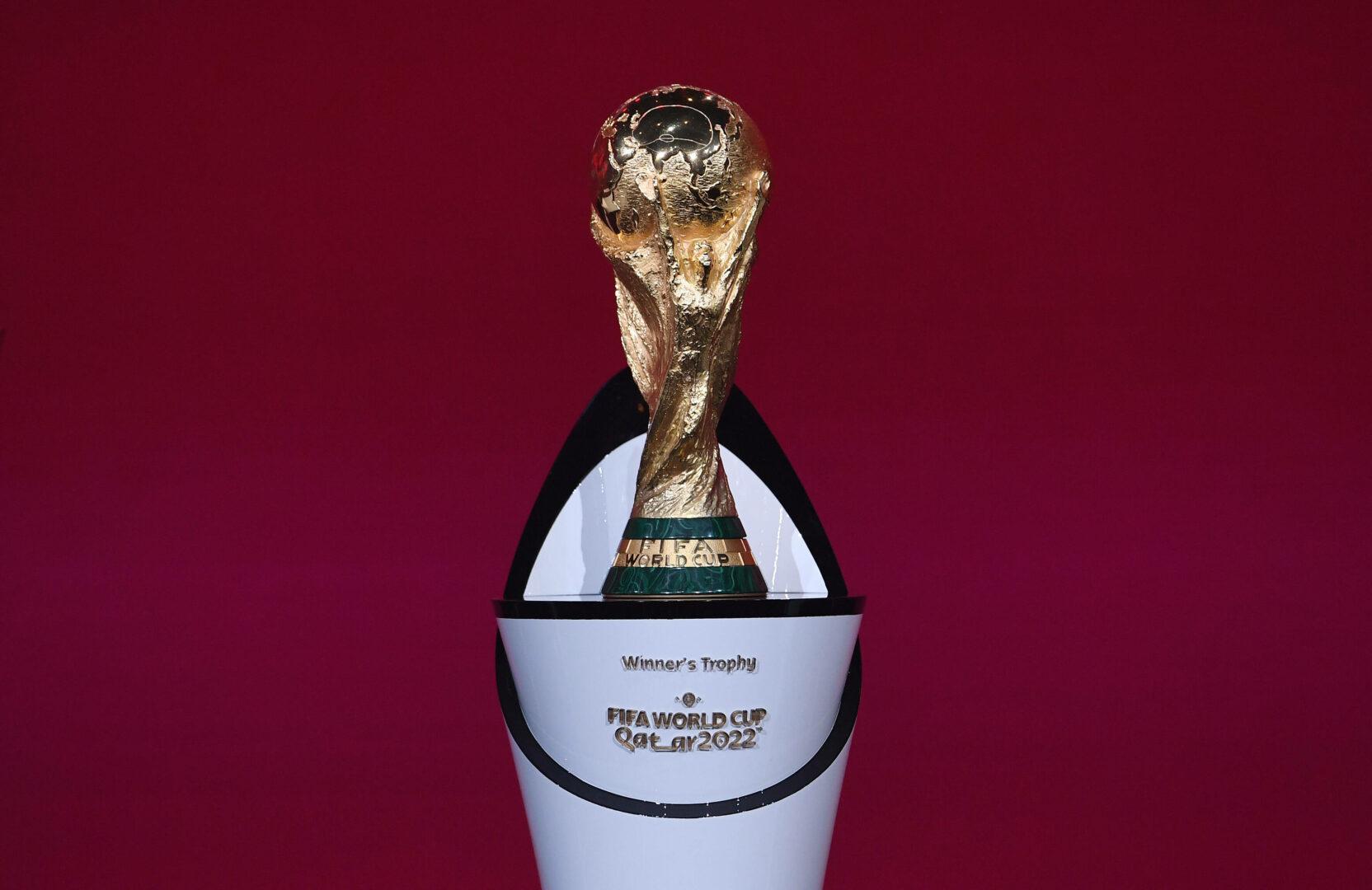 Die FIFA-WM-Trophäe