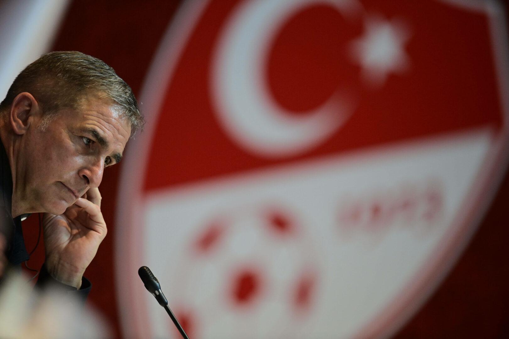 Stefan Kuntz bei seiner Vorstellung als Nationaltrainer der Türkei