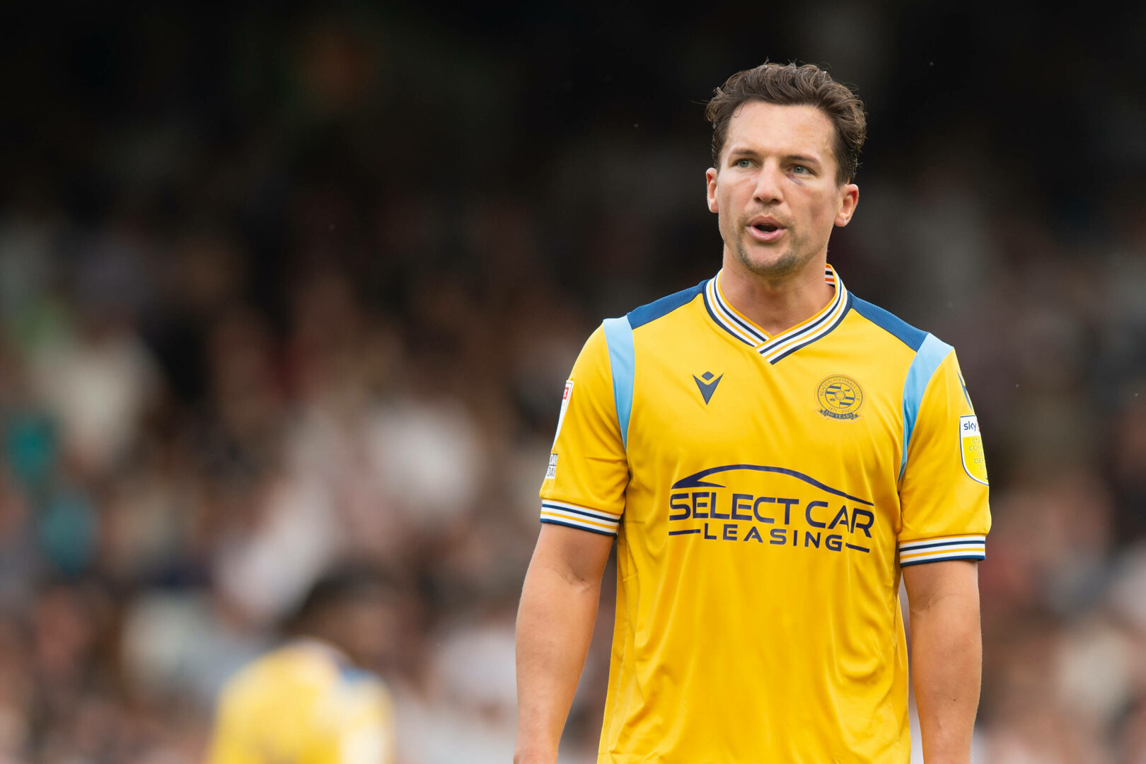 Danny Drinkwater (Reading) pustet durch