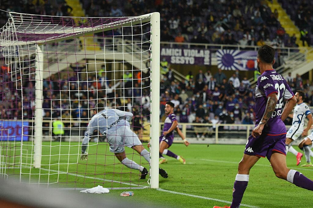 Riccardo Sottil bringt die Fiorentina gegen Inter in Führung