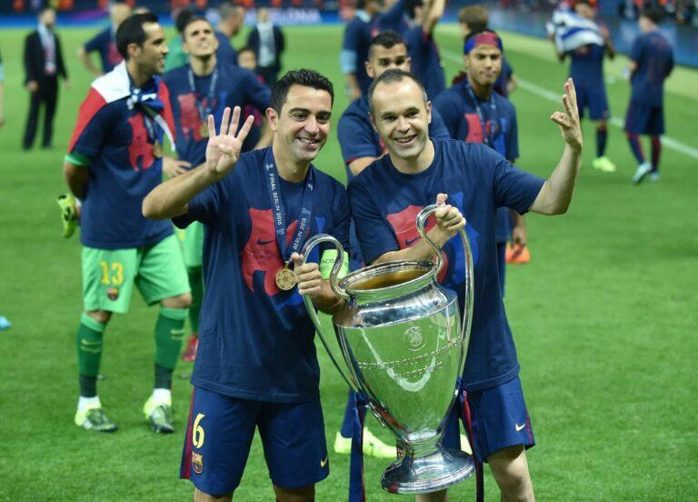 FC Barcelona | Andres Iniesta kann sich Xavi als Trainer vorstellen