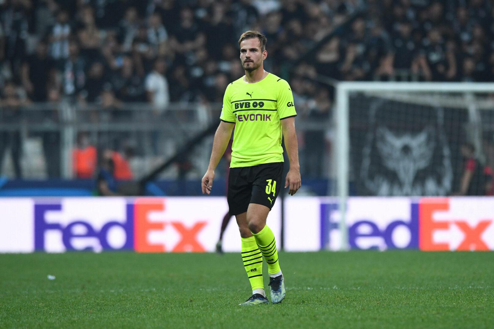 Marin Pongracic beim Champions-League-Spiel von Borussia Dortmund in Istanbul.