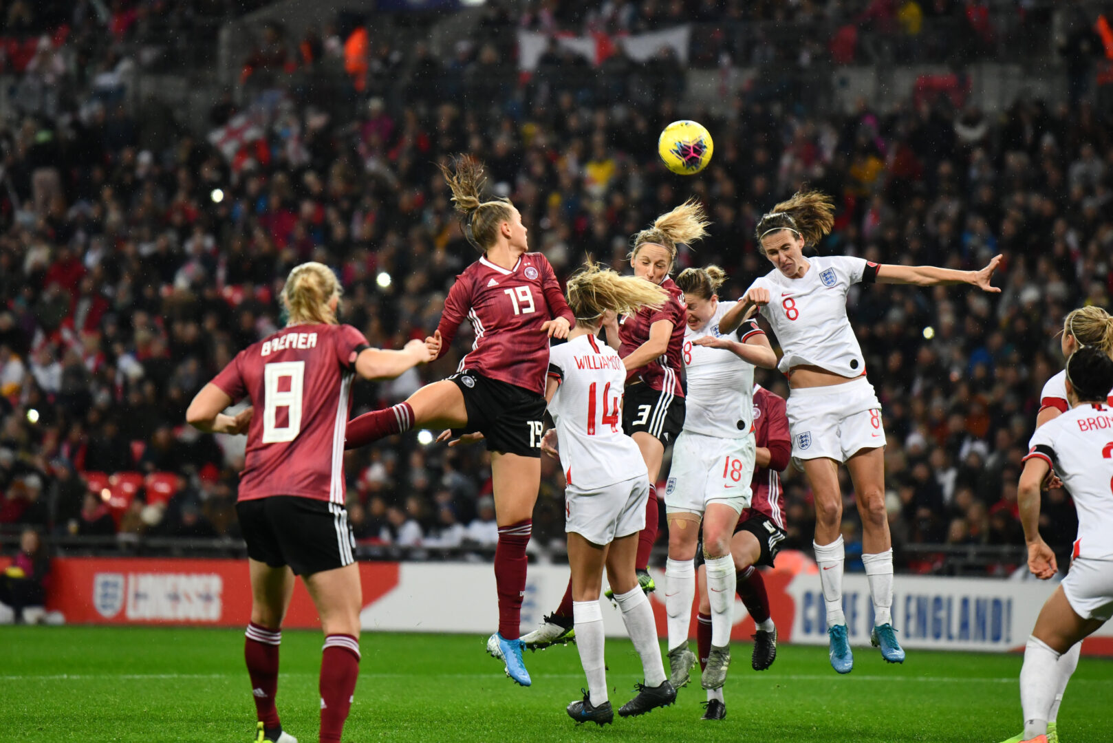 England und Deutschland duellierten sich 2019 in Wembley.