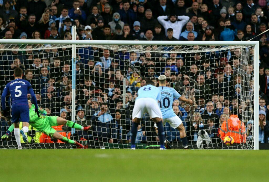 Manchester City Chelsea Agüero