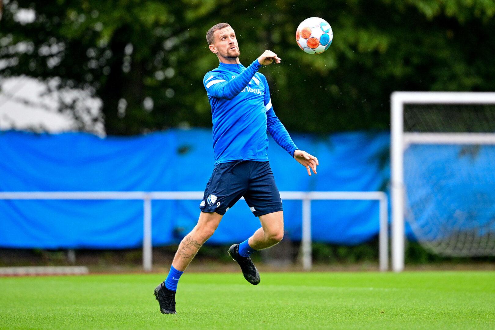 Simon Zoller im Training des VfL Bochum