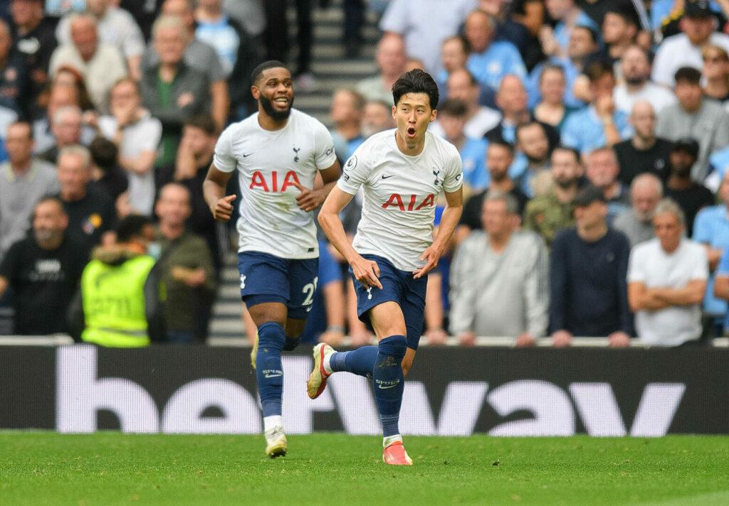 Son, Ndombele Jubel (Tottenham) Premier League