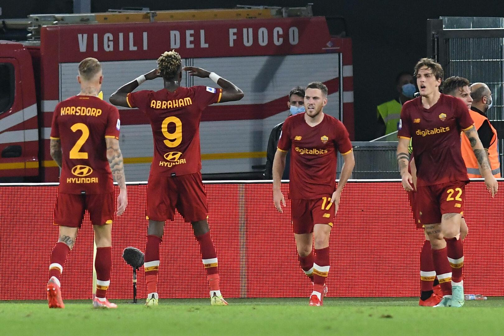 Die Roma jubelt - auch gegen Lazio?