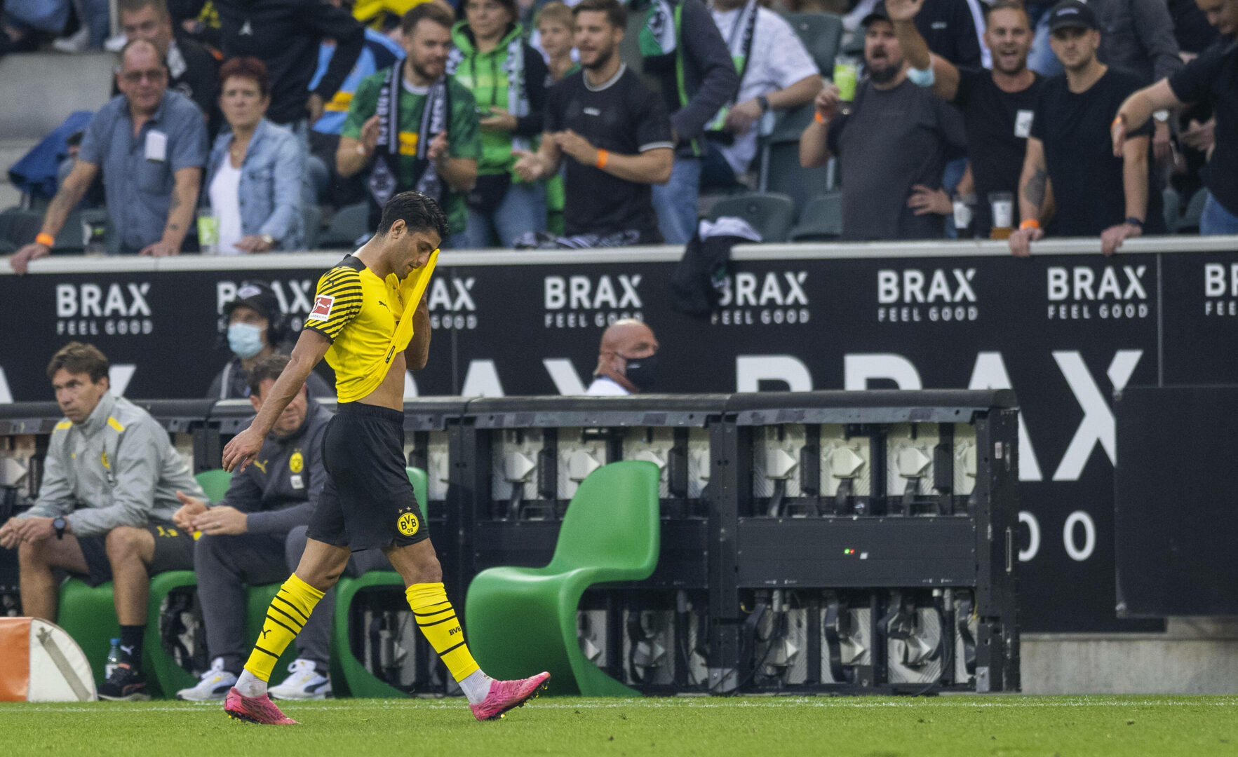 Dahoud Dortmund Gladbach