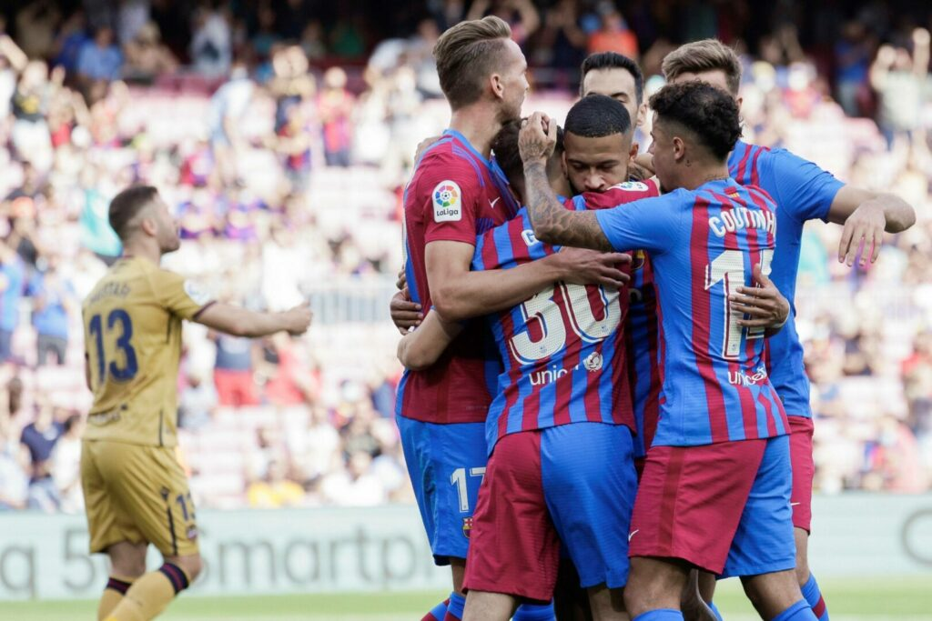 Barcelona jubelt gegen Levante