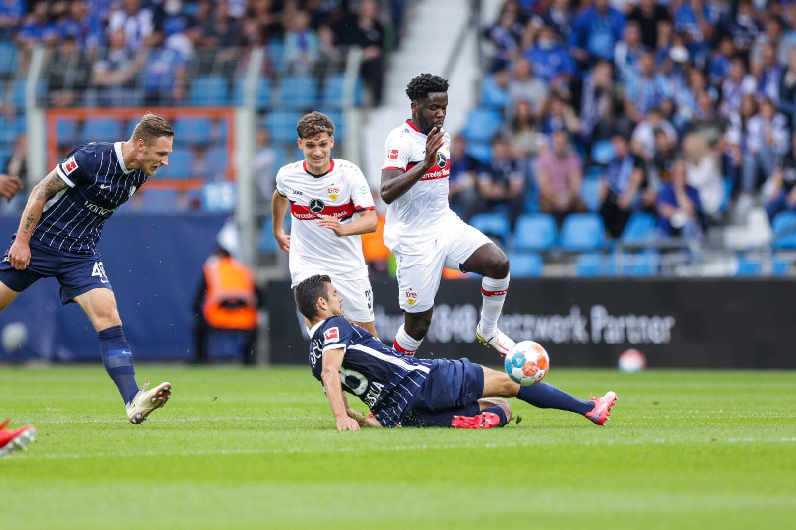 Viel Kampf, wenig Fußball: Bochum und Stuttgart trennen sich unentschieden